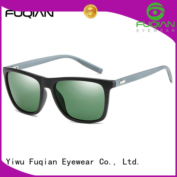 Fuqian male mens brown sunglasses for driving