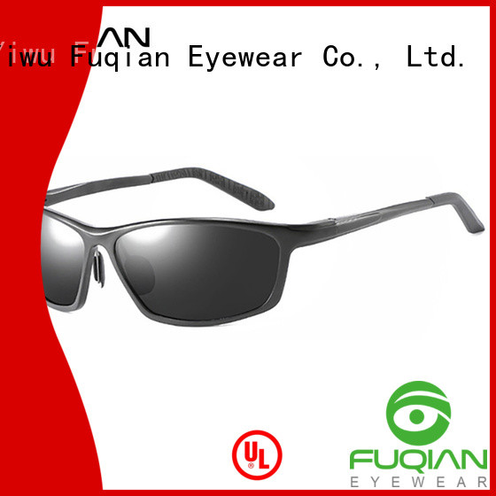 Fuqian best polarized glass lens sunglasses company for sport