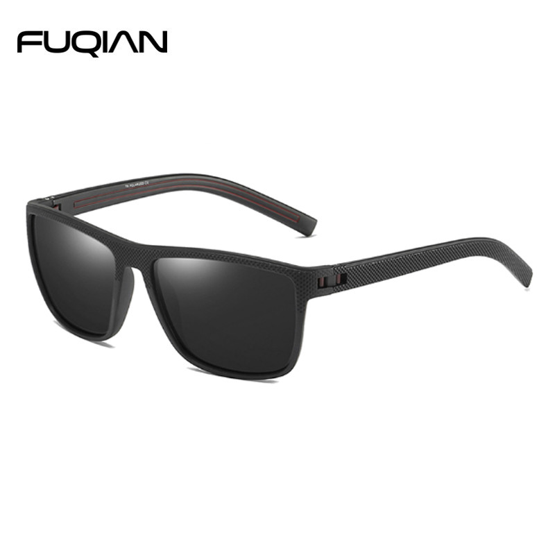 Stylish Square TR90 Frame Men Male Sunglasses Polarized