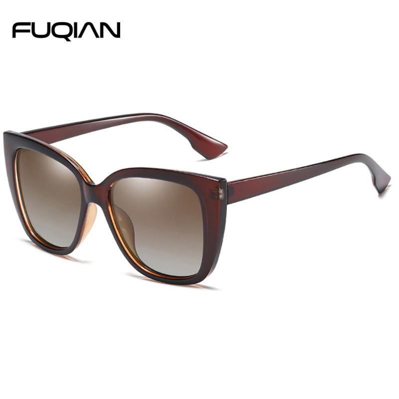 Fuqian sunglasses aviator for women company for lady-2