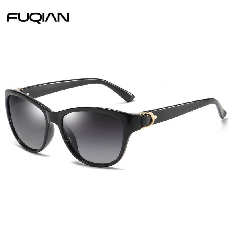 Fashion Cat Eye Plastic Women Sunglasses Polarized
