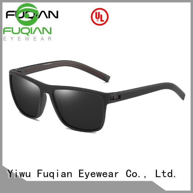 Fuqian custom pilot sunglasses Suppliers for men