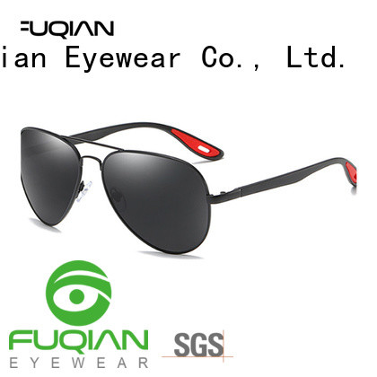 Fuqian solar shield sunglasses customized for sport