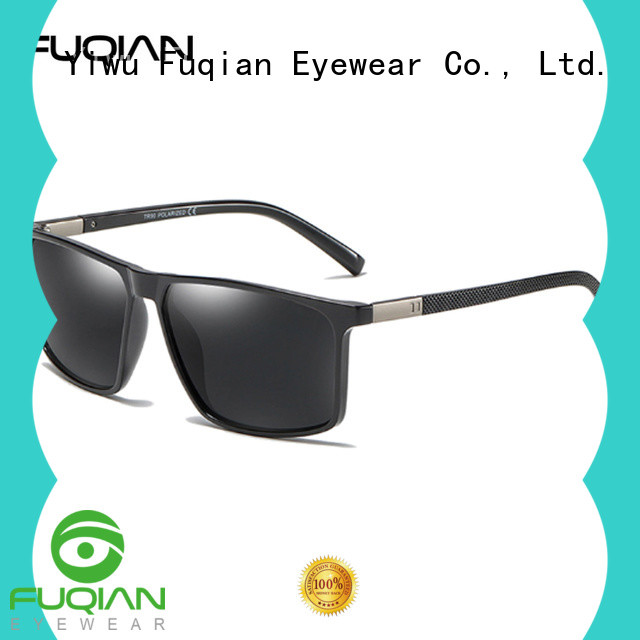 Fuqian polarized running sunglasses factory price for men