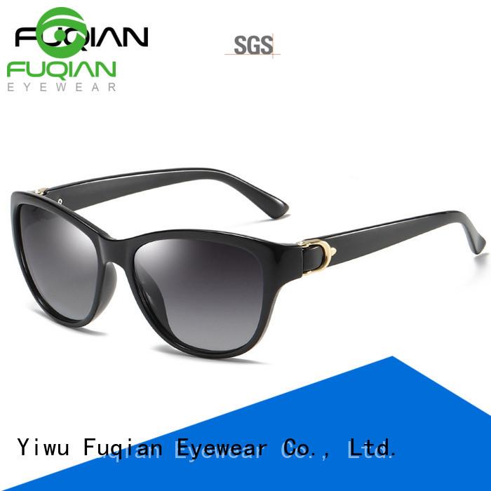 Fuqian lady women sunglasses customized