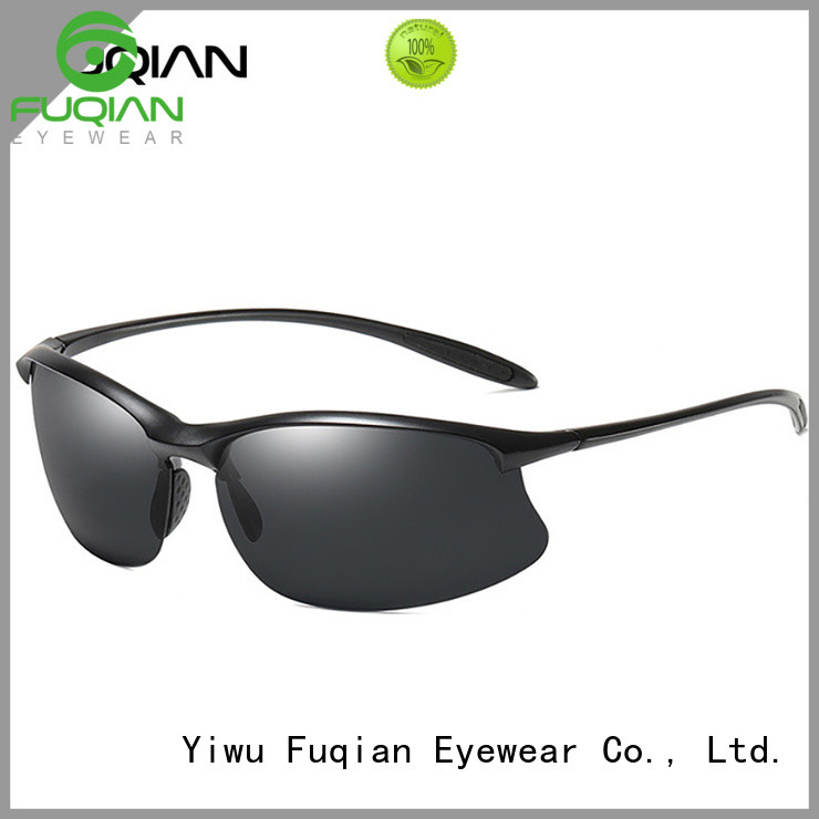 Fuqian Latest polarized specs metal frame for outdoor activities