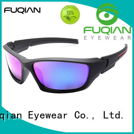 Fuqian outdoor nice polarized sunglasses for business for sport