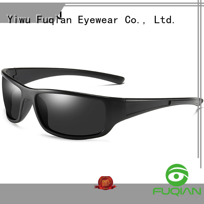 Fuqian vintage women's sport sunglasses suitable for any face for outdoor activities