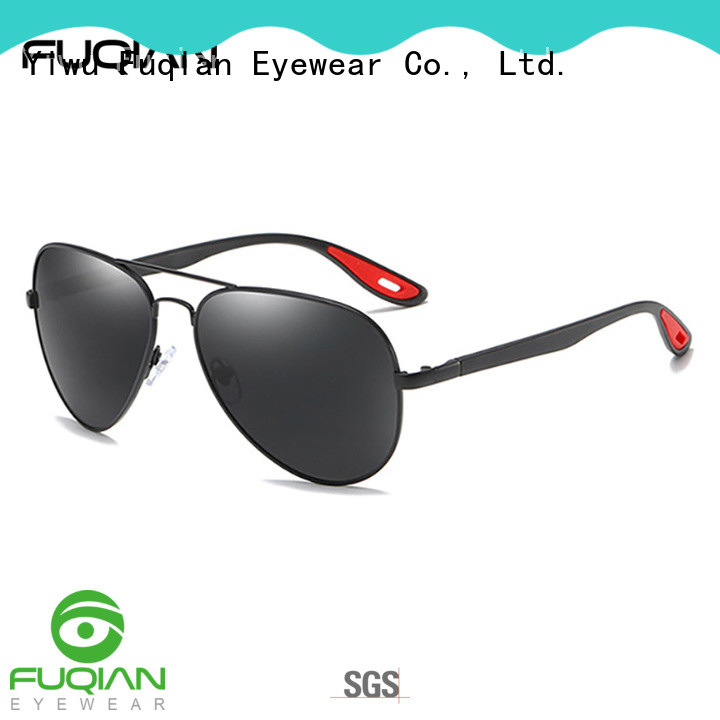 Fuqian men casual sunglasses mens Supply for sport