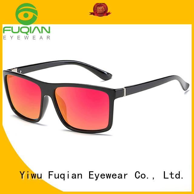 Fuqian tr90 polarized sunglasses customized for men