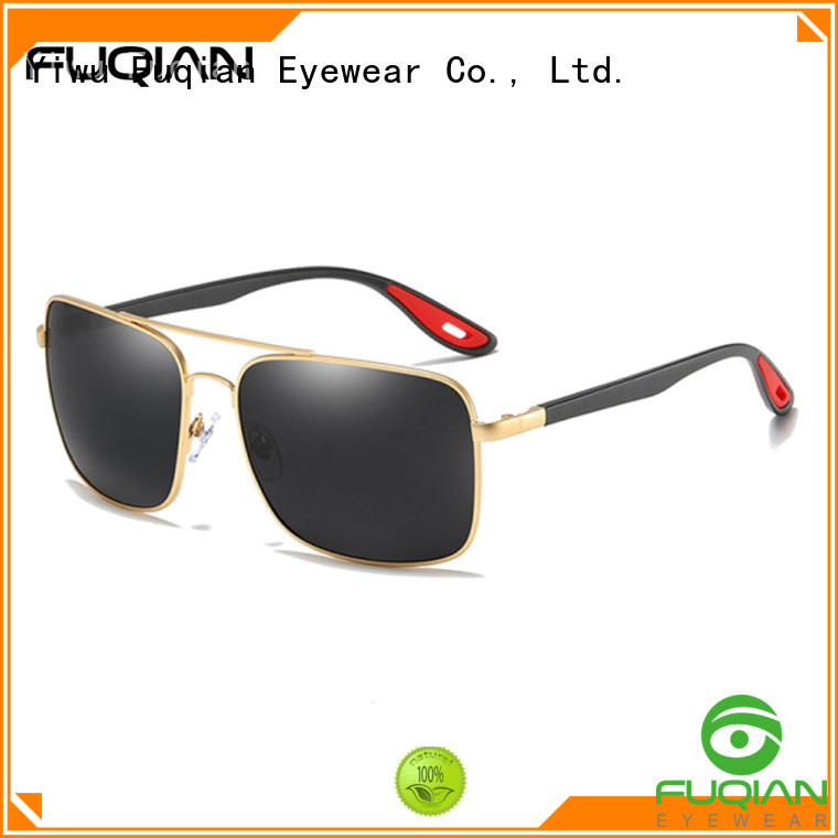 Fuqian polarized sunglasses for men fashion design for driving