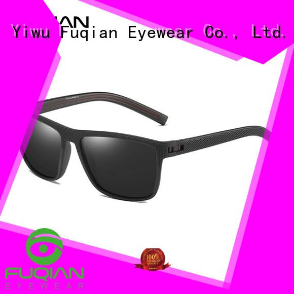 Fuqian polarized sunglasses for men customized for sport