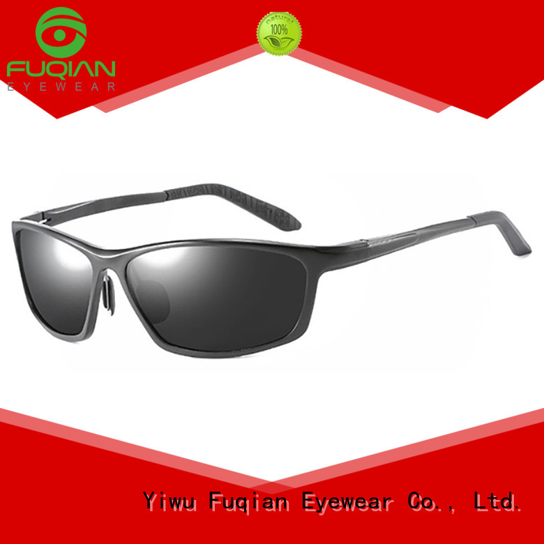Fuqian polaris sunglasses black company for lady
