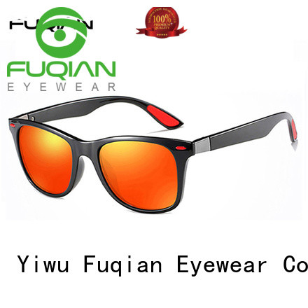 mirrored men's sunglasses for men Fuqian