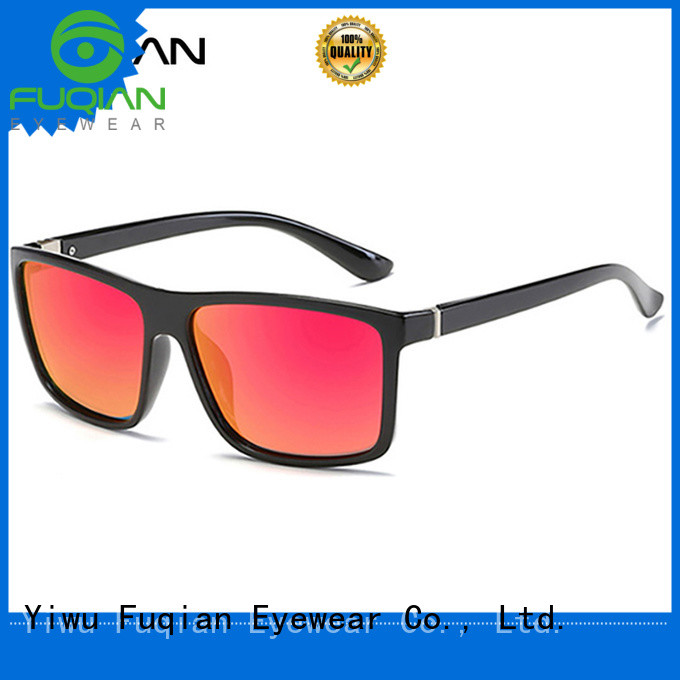 Fuqian custom men sunglasses customized for men
