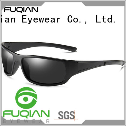 Fuqian real polarized sunglasses luxury style for climbing