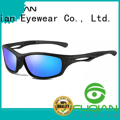 Fuqian TR90 polar glasses for sale metal frame for sport