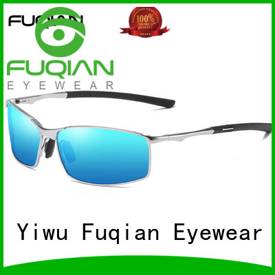 Fuqian custom von zipper sunglasses for business for driving