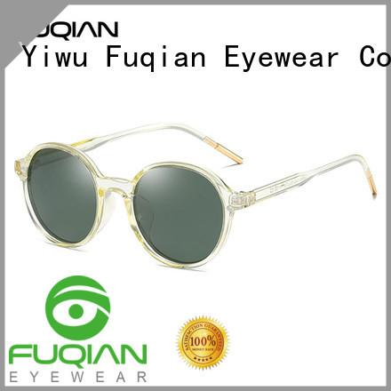 Fuqian New wholesale fashion sunglasses factory for women