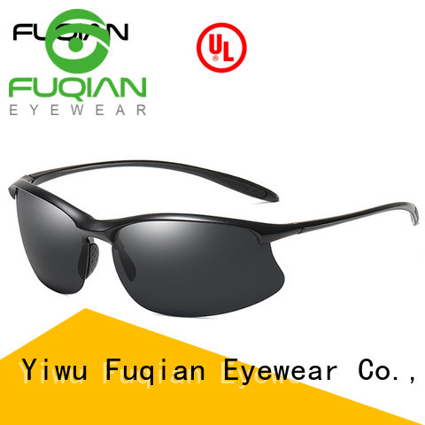Fuqian vintage athletic sunglasses for climbing