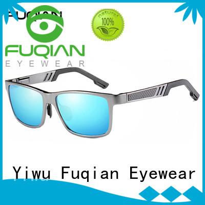 Fuqian unique mens sunglasses factory price for sport