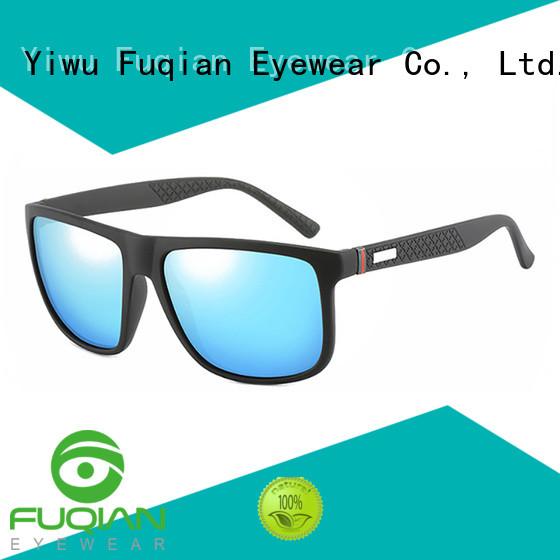 Fuqian flip up sunglasses factory price for running