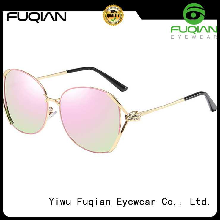 Fuqian Best women's metal sunglasses manufacturers