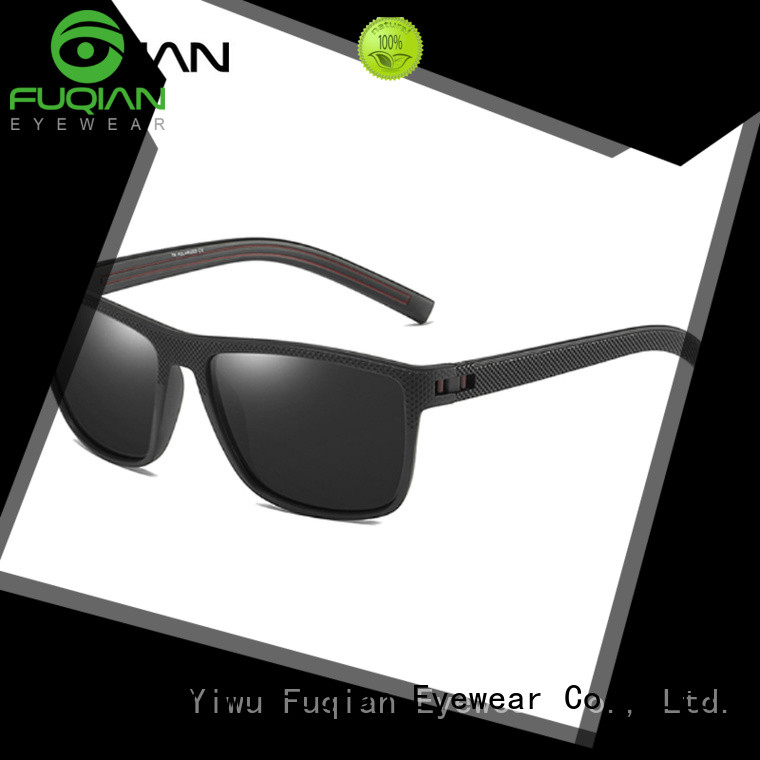 Fuqian polarized men sunglasses customized for men