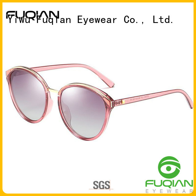 Fuqian Latest fast track sunglasses customized
