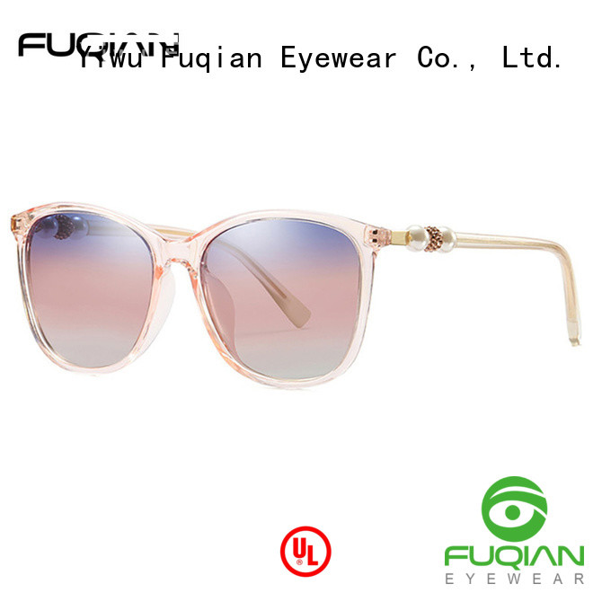 Fuqian women's polarized mirrored sunglasses Supply for racing