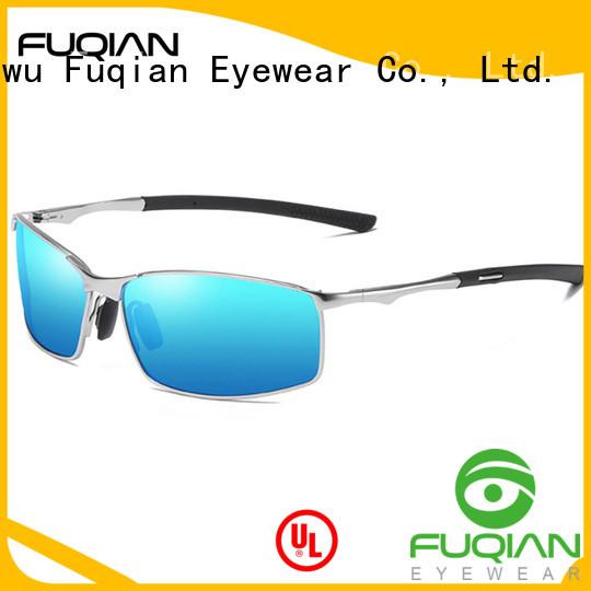 Fuqian men sunglasses factory for sport