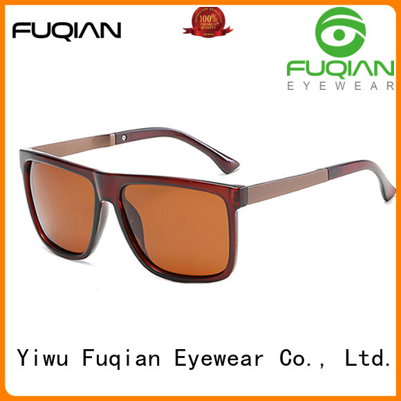 Fuqian custom mens fashion sunglasses manufacturers for driving