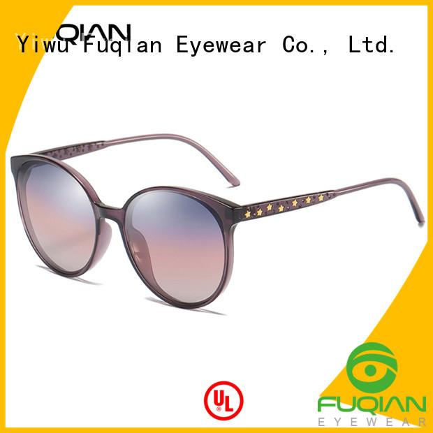 Fuqian mirrored womens sunglasses company for racing