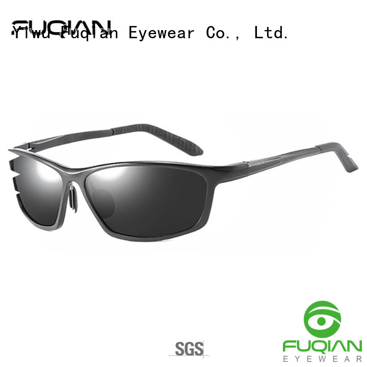Fuqian vintage outdoor polarized sunglasses suitable for any face for outdoor activities