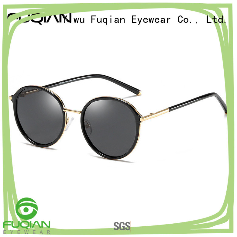 Fuqian stylish ladies sunglasses customized