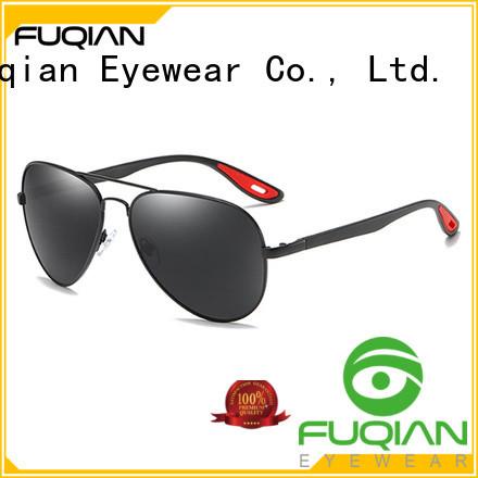 Fuqian custom men sunglasses fashion design for sport