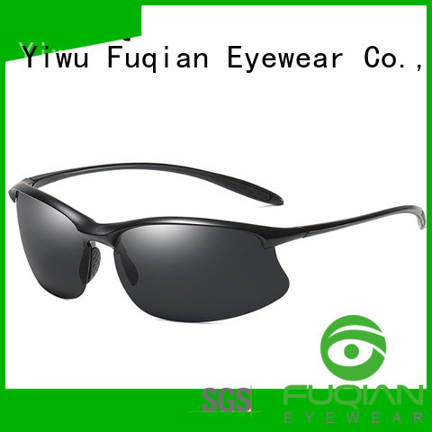 Fuqian outdoor stylish sport sunglasses luxury style for outdoor activities