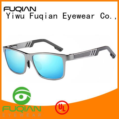 Fuqian fashion men sunglasses customized for driving