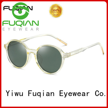 Fuqian Wholesale sunglasses websites for business for racing
