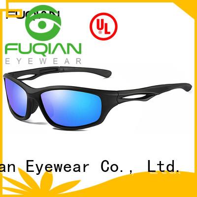 Fuqian polaroid sunglasses blue for business for lady