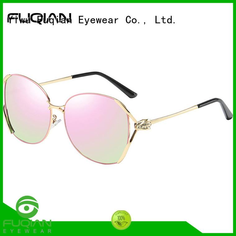 Fuqian lightweight oversized designer sunglasses Suppliers for racing