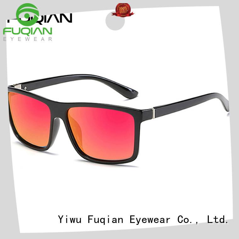 Fuqian unique mens sunglasses customized for driving
