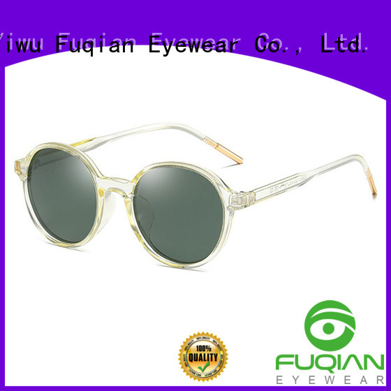 Fuqian New eye sunglasses for business for women
