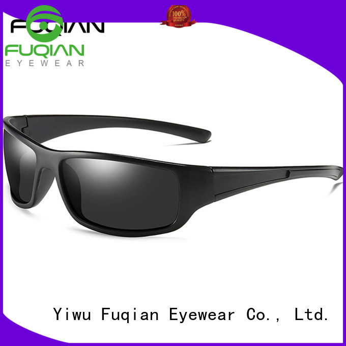 Fuqian outdoor mens sport sunglasses metal frame for climbing