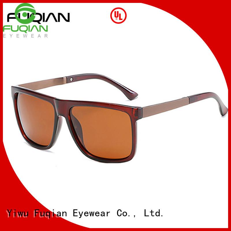Fuqian fashion polarized sunglasses for men fashion design for sport