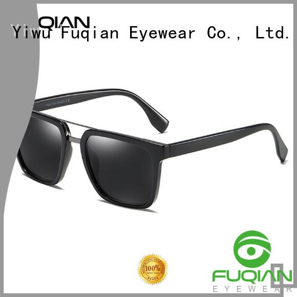 Fuqian custom men sunglasses fashion design for driving