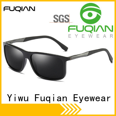 Fuqian mens luxury sunglasses Supply for running