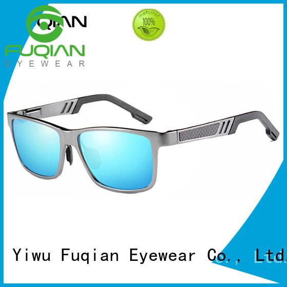 Fuqian male classic sunglasses customized for men