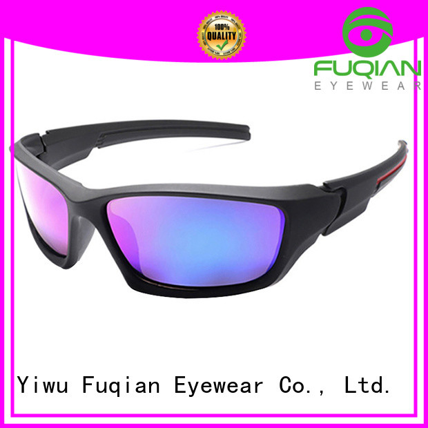 Fuqian women's sport sunglasses luxury style for gentlemen