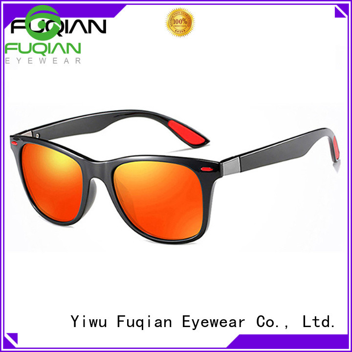 Fuqian reflective sunglasses factory price for driving